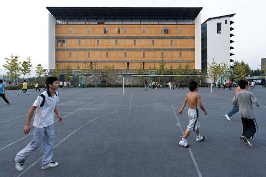 New Academy of Art in Hangzhou / Wang Shu, Amateur Architecture Studio (24)  Iwan Baan