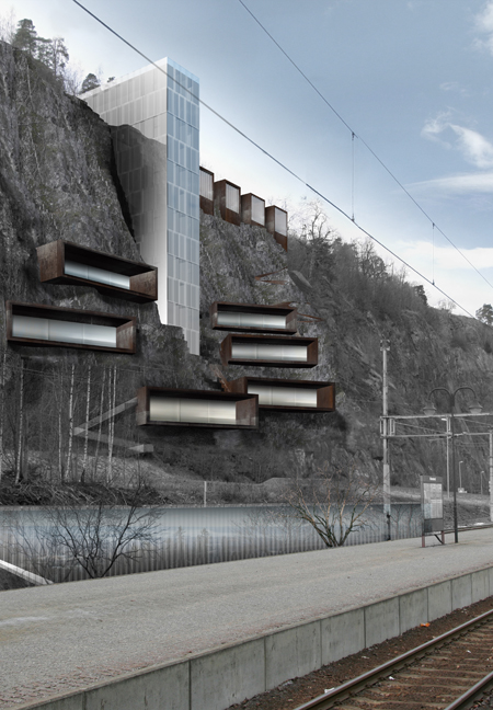 Vertical Landscape Urbanism / Studio Hp As + L.E.FT