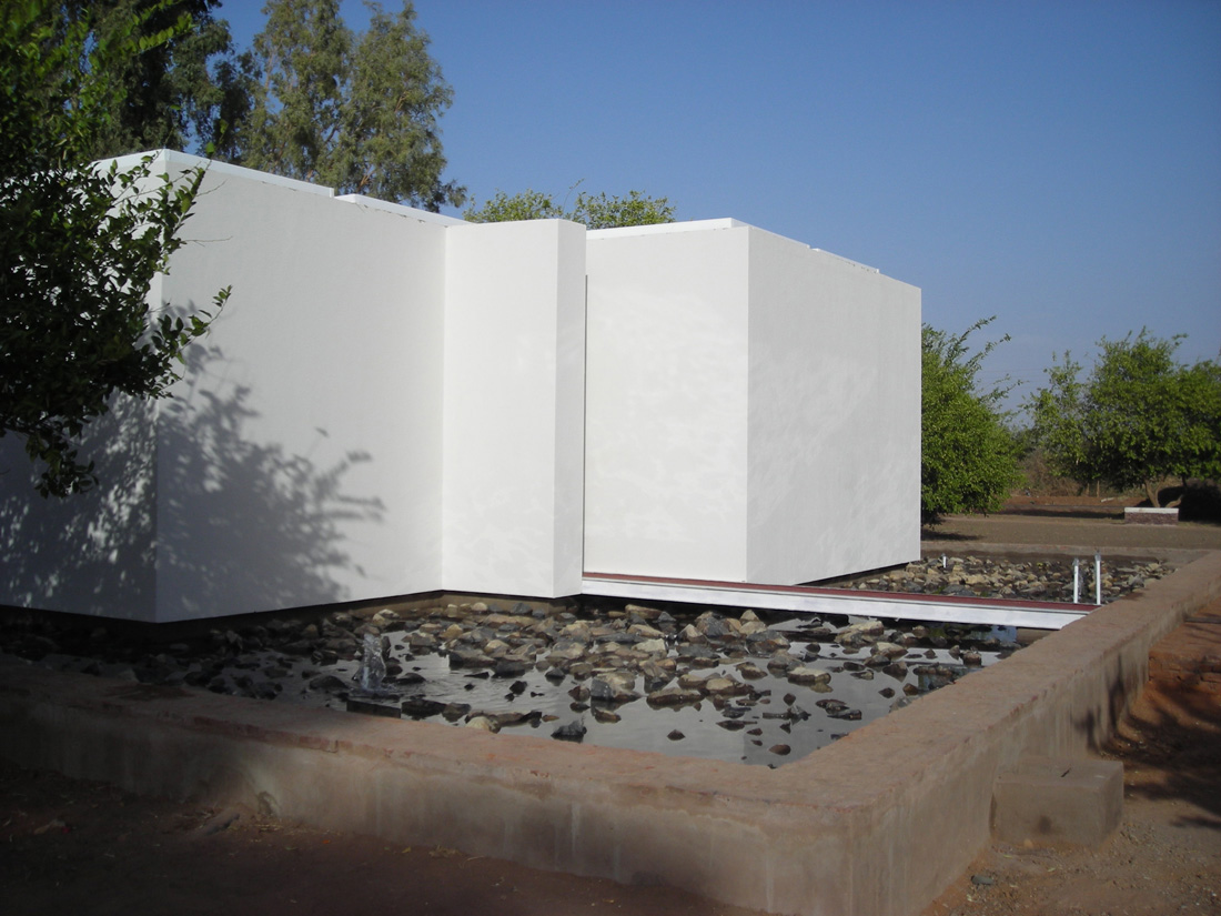 Prayer & Meditation Pavillion / Studio Tam associati