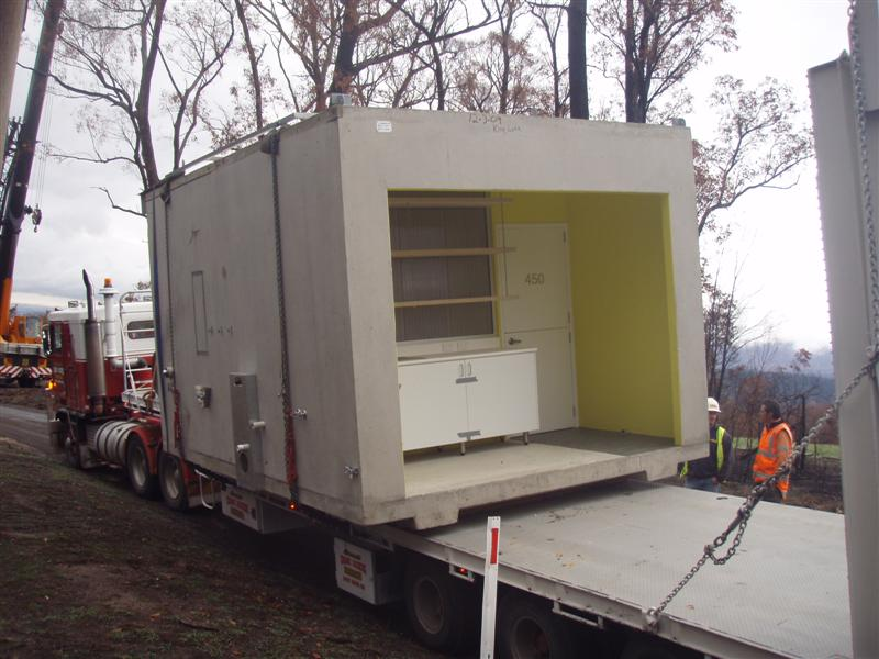 House re-Growth Pod arrives on site