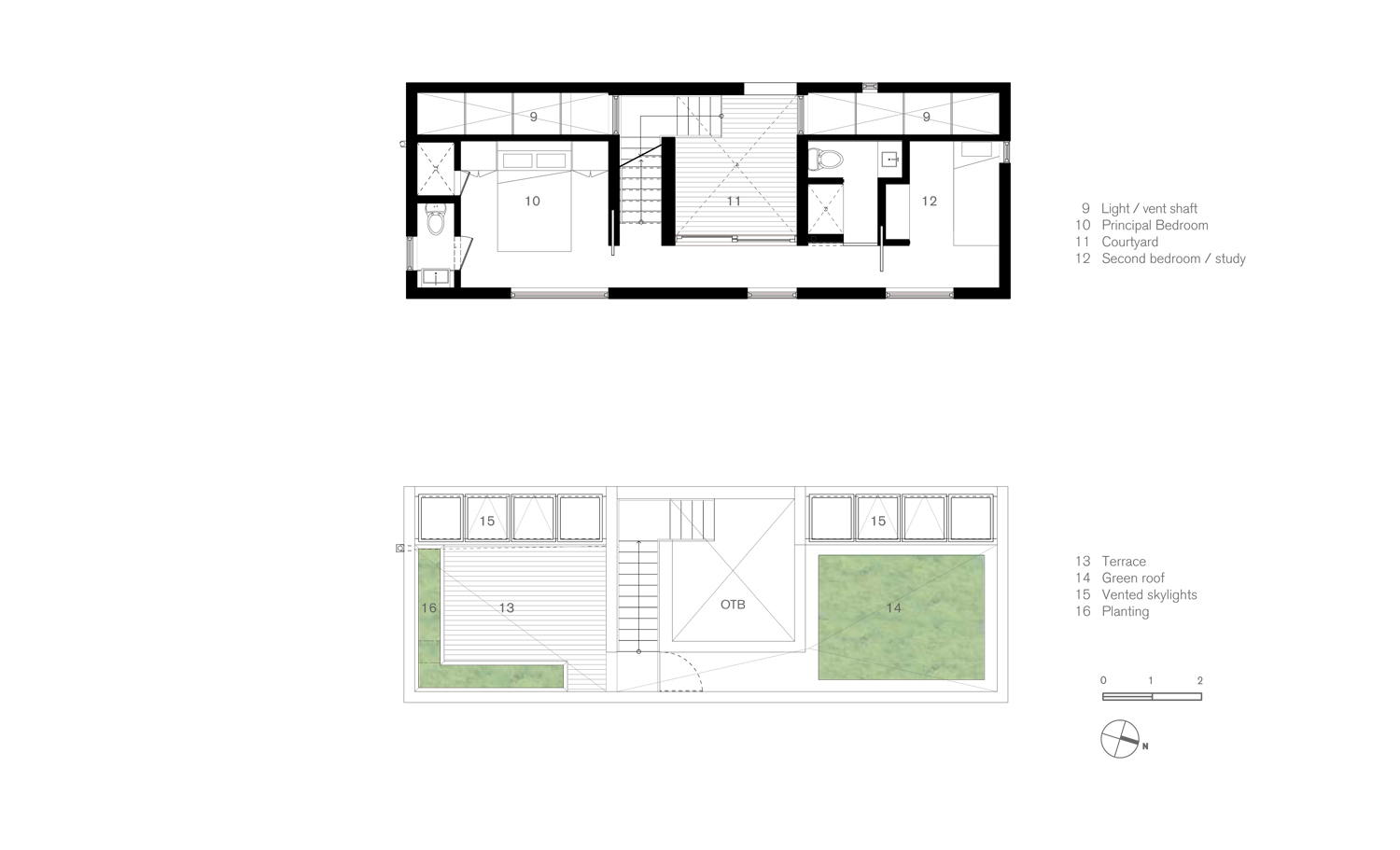 page 5 _ plans.ai second floor & roof plan