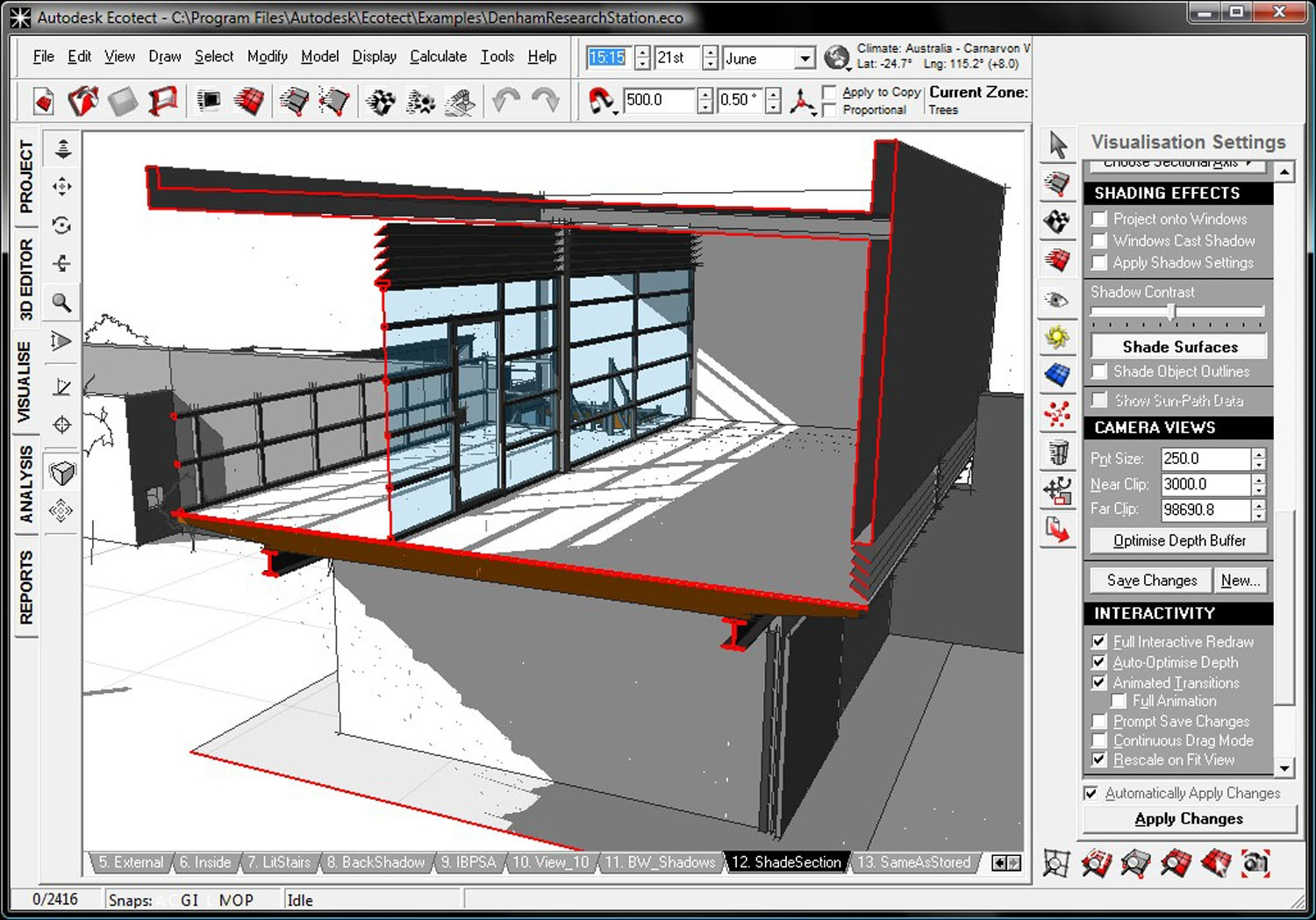 Digital architecture autodesk announces ecotect analysis House construction design software free