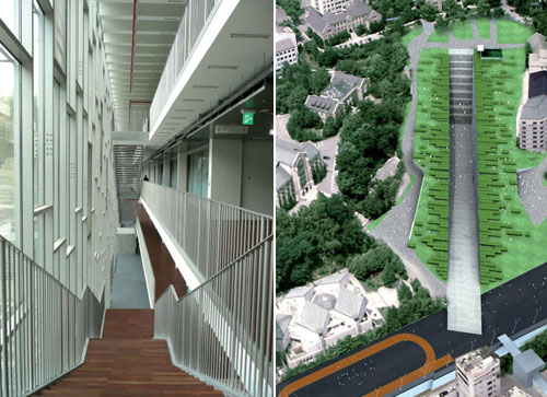 Ewha Univeristy's Campus Center / Dominique Perrault