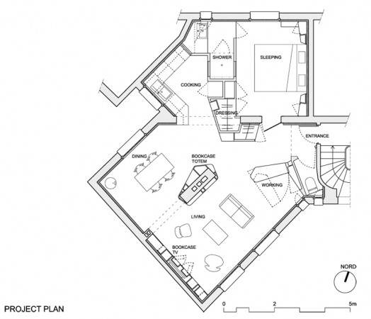 project floor plan