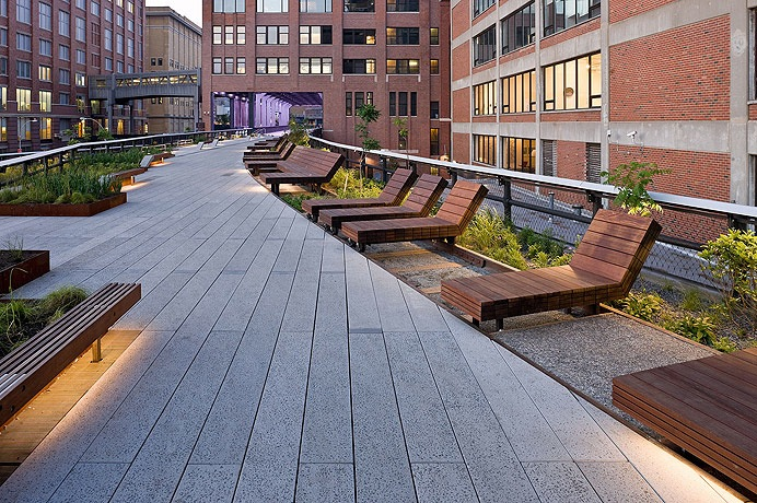 The New York High Line officially open