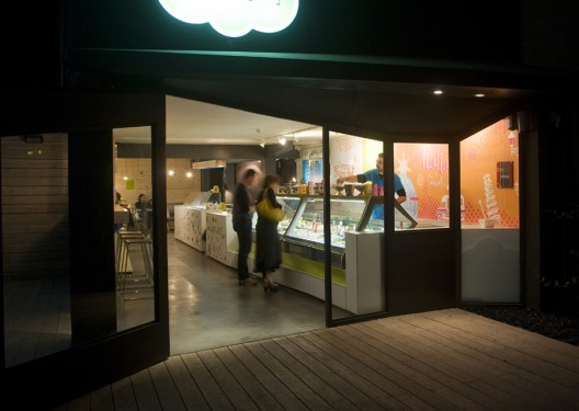Leggenda Ice Cream and Yogurt / SO Architecture