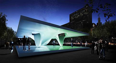 Pavilions open at millenium park archdaily - Millennium home design fort wayne ...