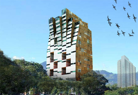 Mixed Use Tower / Moho Architects