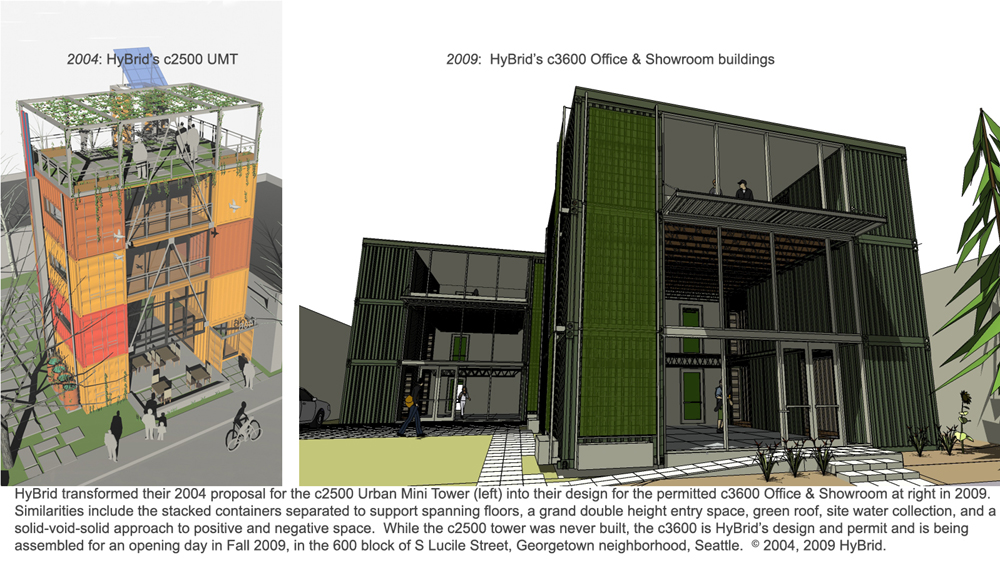 Cargotecture / HyBrid Architecture + Assembly ...