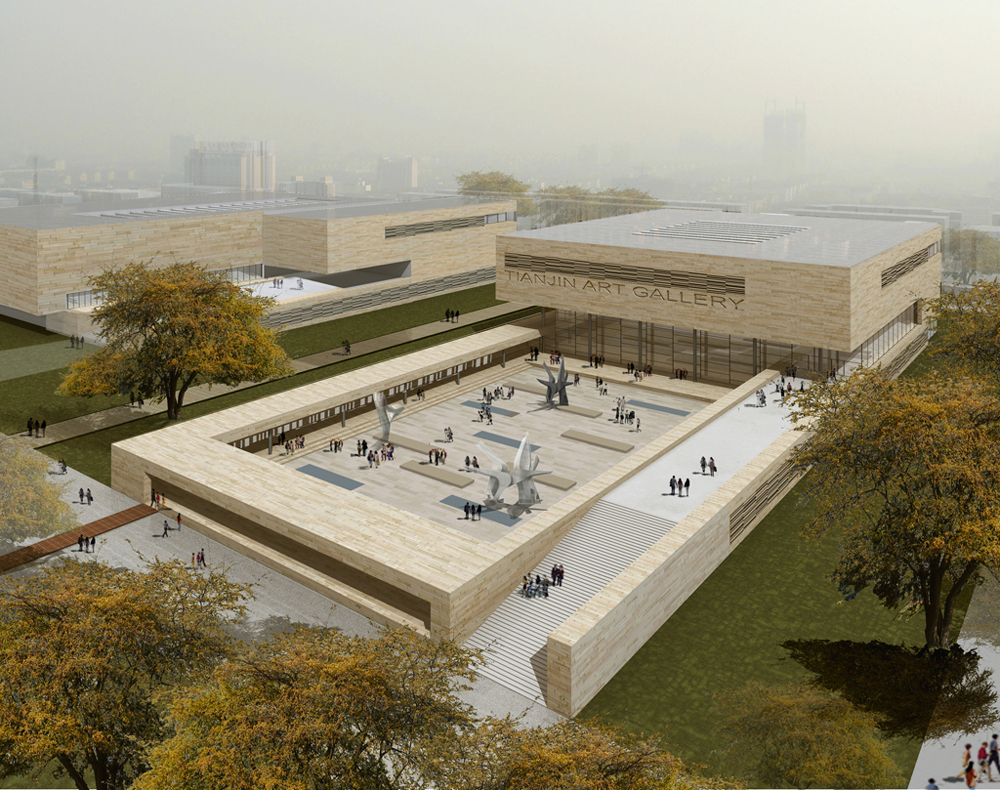 Tianjin Art Gallery / KSP Engel und Zimmermann Architekten