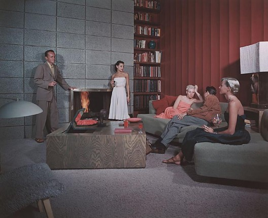 Spencer Residence, 1950 Santa Monica, CA / Richard Spencer, architect   Julius Schulman