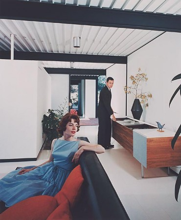 Case Study House #21, 1958 Los Angeles, CA / Pierre Koenig, architect    Julius Schulman