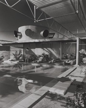 Frey House, 1953 Palm Springs, CA / Clark &amp; Frey, architects   Julius Schulman