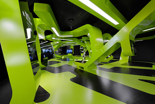 Level Green Exhibit / J. Mayer H. Architects + Art+Com Berlin