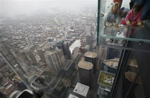 Glass Balcony at Sears Tower