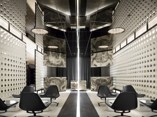 the standard hotel new york polshek partnership architects archdaily. Black Bedroom Furniture Sets. Home Design Ideas