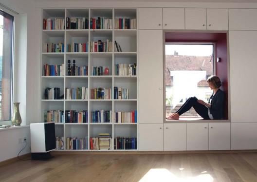 House   / Anne Menke living room inside the new