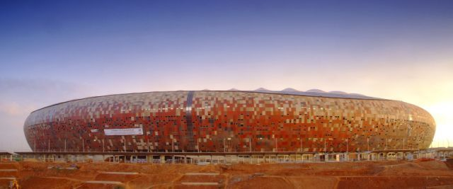 South Africa World Cup 2010: Soccer City Stadium