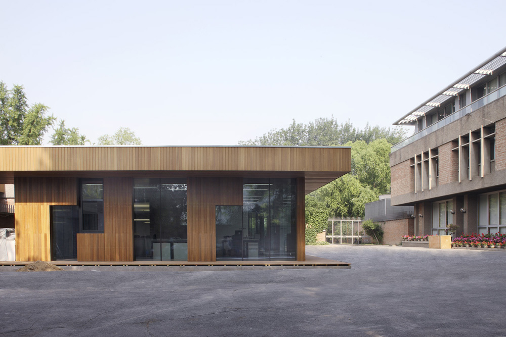 Visa section of Swiss Embassy in Beijing  / EXH Design