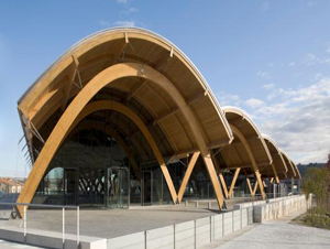 RIBA Stirling Prize Shortlist 2009- Bodegas Protos with wonderfull wooden structure
