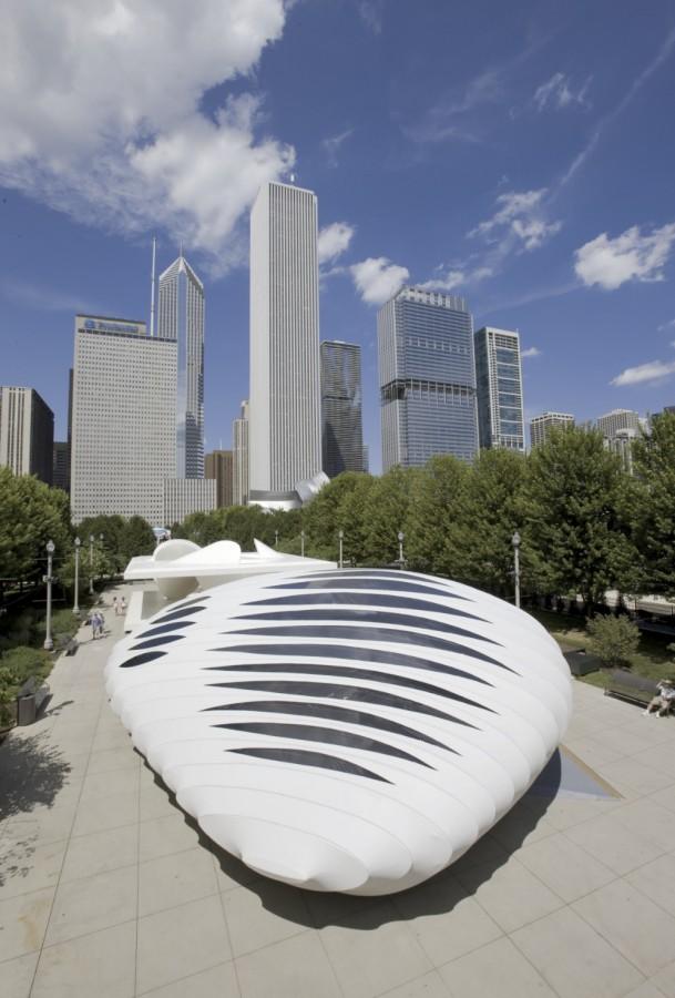 Burnham Pavilion / Zaha Hadid