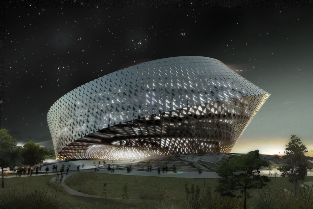 National Library in Astana,  Kazakhstan / BIG