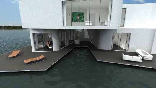 آپارتمان شناور