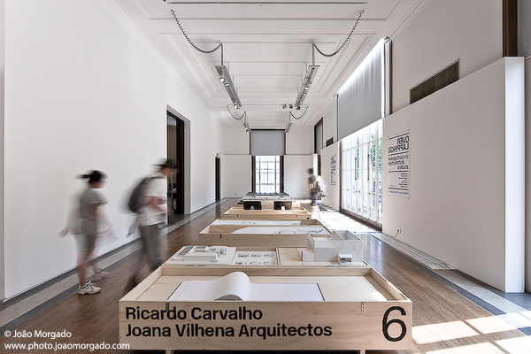 Overlappings: Young Portuguese Architects Exhibition at the RIBA Gallery