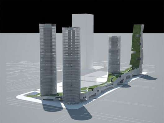 Four Towers in One Competition / Steven Holl Architects