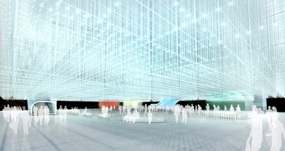 The Shanghai Corporate Pavillion for World Expo 2010 / Atelier FCJZ