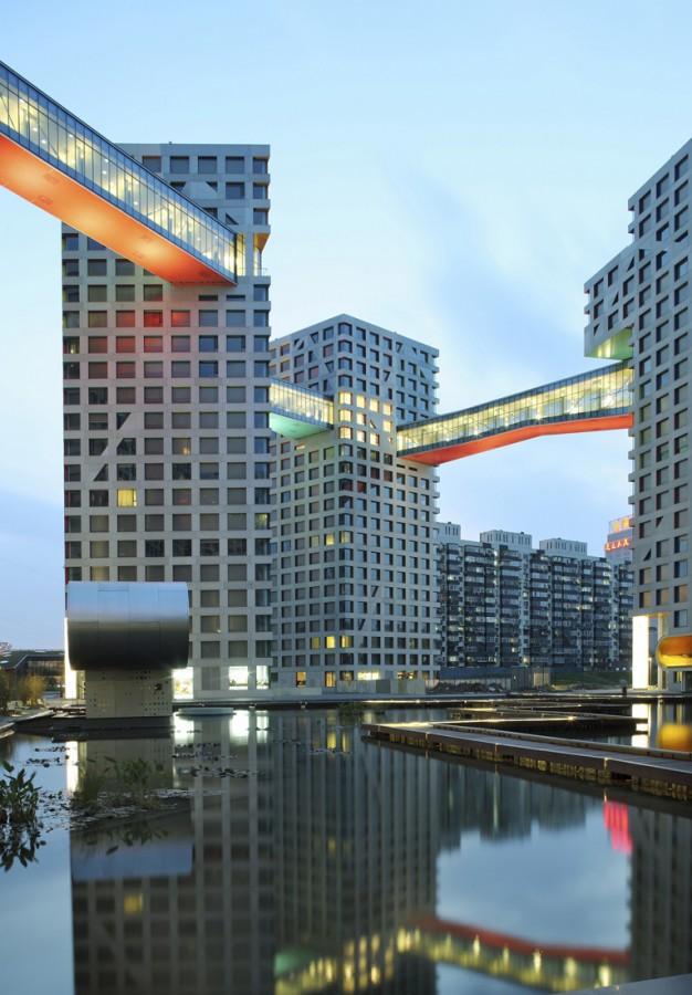 Linked Hybrid / Steven Holl Architects