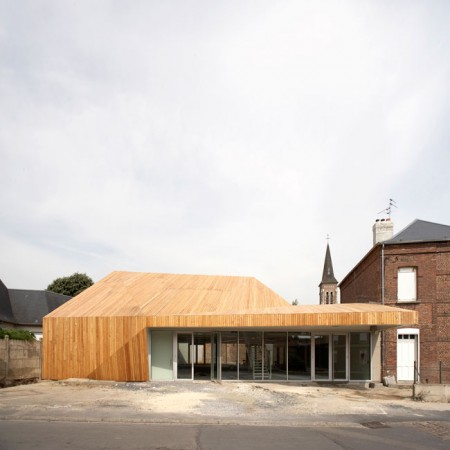 Proville Mediatheque / TANK Architectes