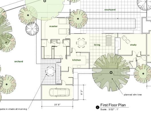Google sketchup 7 1 now available archdaily for Site plan dimensions
