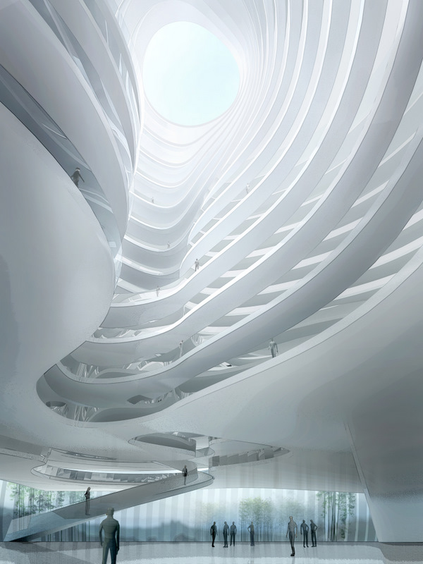 Taichung Convention Center / MAD Architects