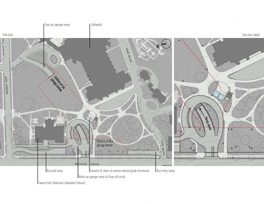 National Cathedral Floor Plan http://www.archdaily.com/37265/washington-national-cathedral-visitor-gateway-smithgroup/