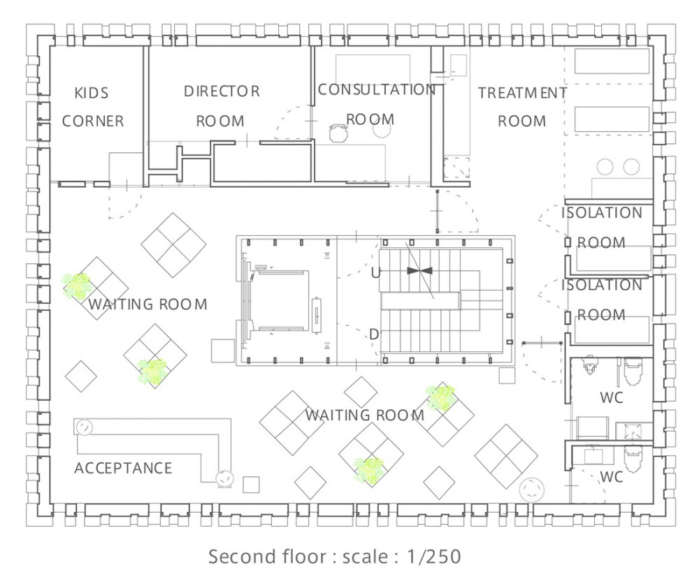 Architecture Photography Second Floor Plan 37509