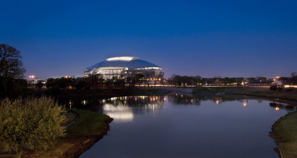 Dallas Cowboys Stadium  / HKS