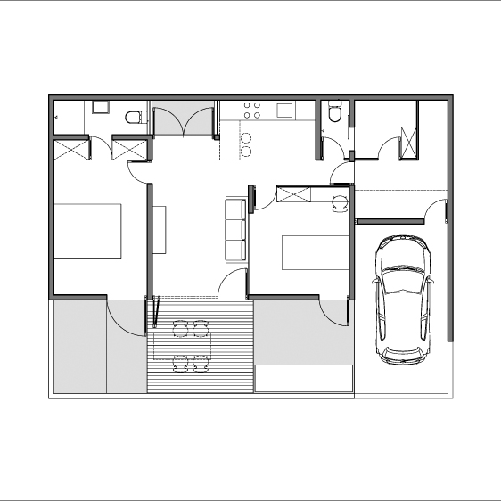 Architecture Photography Cad Plan 38227