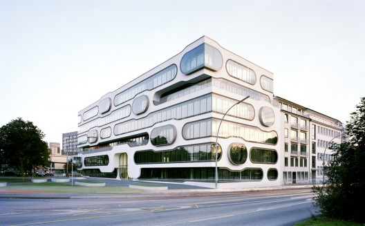 An der alster 1 j mayer h architects archdaily for Imhotep architecte