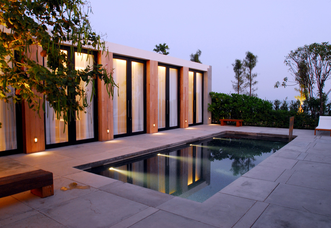Architecture photography pool villa 38552 for Villa en container
