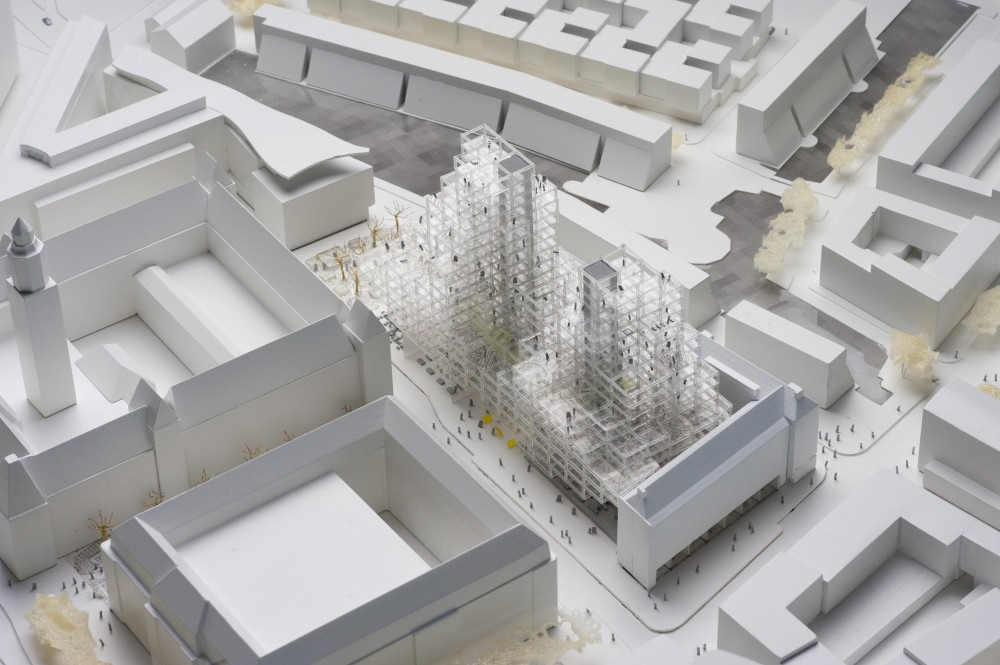 OMA wins competition for Stadskantoor building at Rotterdam's City Hall