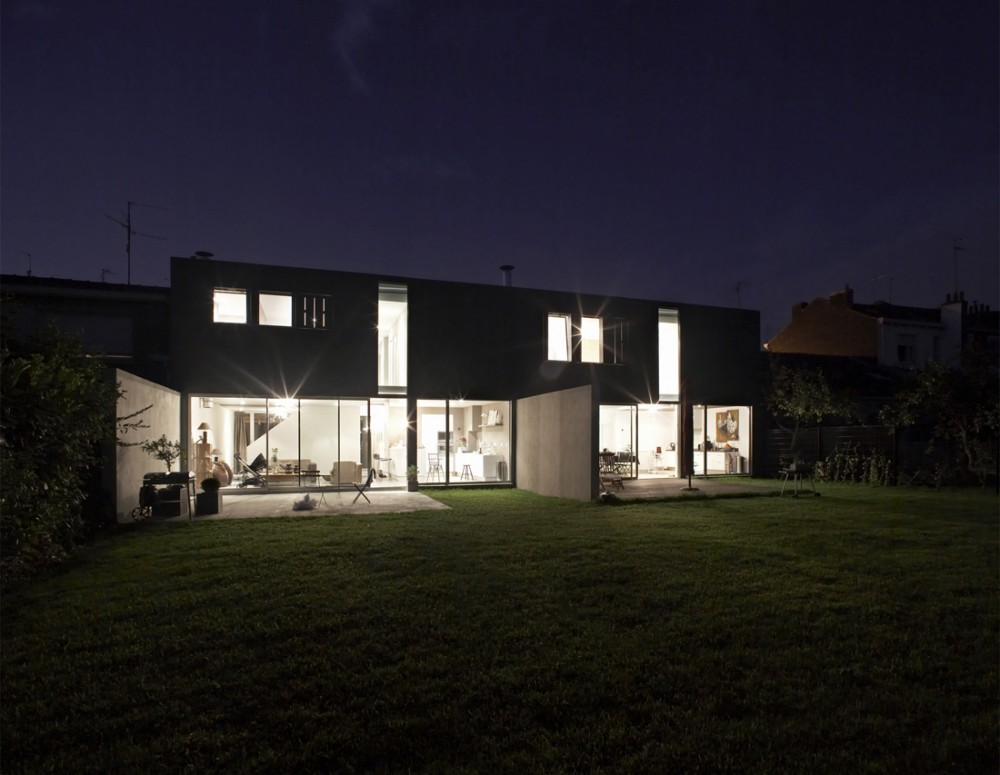 Pile ou Face Houses / TANK Architectes