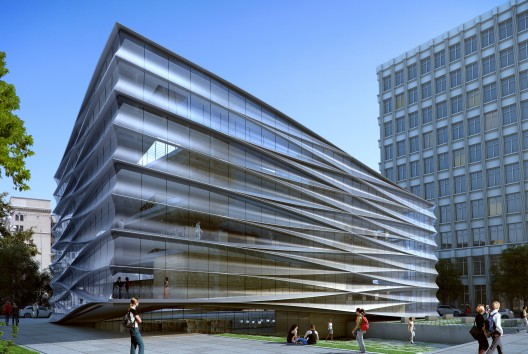Baton Rouge Downtown Library by Trahan Architects, update