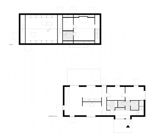 ground &amp; second floor plan