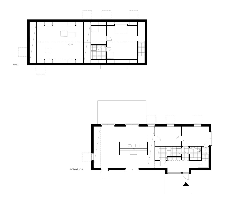 ground & second floor plan ground & second floor plan