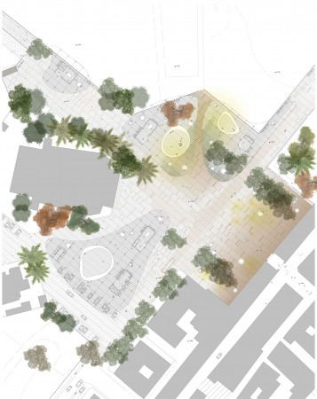 Plan of Vittoria Square