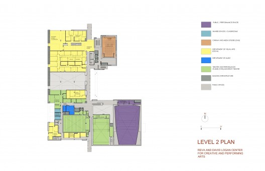 Level 2 plan © Tod Williams Billie Tsien