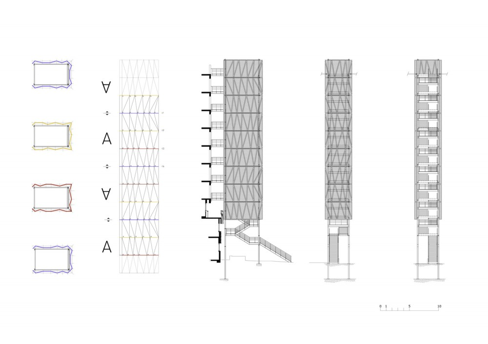 Plan Elevation Section Of Hospital : Architecture photography plans elevations section