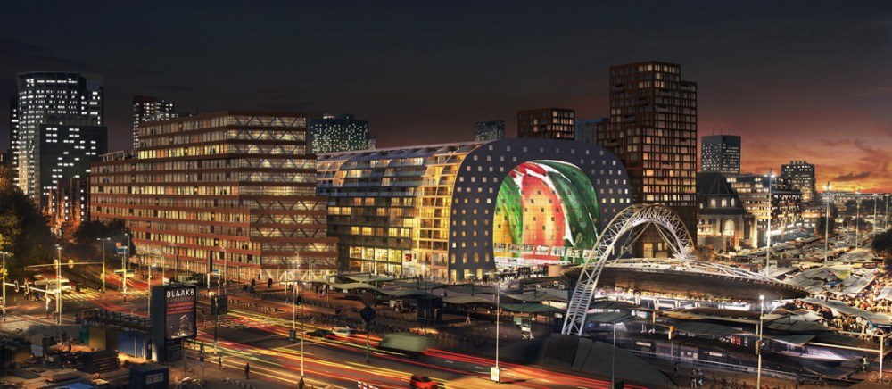 Construction of MVRDV's Market Hall started