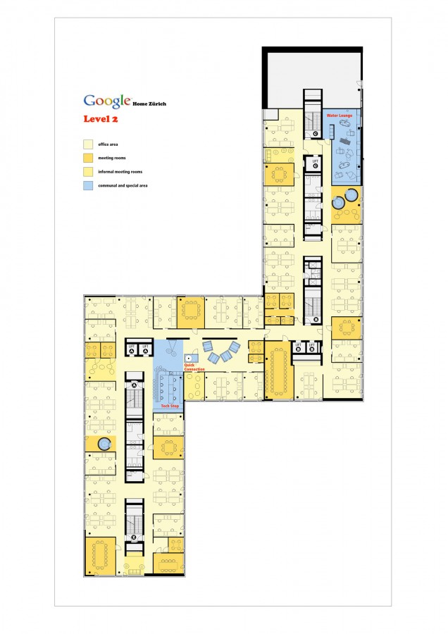 The bankruptcy of architecture google office Google floor plan